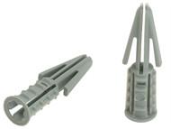 Plasplugs PLACF424 - CF 424 Standard Plasterboard Fixings Pack of 100