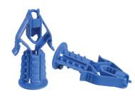 Plasplugs PLAHCFS409 - HCFS 409 Heavy-Duty Plasterboard Fixings & Screws Pack of 10