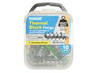Plasplugs PLASCP120 - SCP 120 Thermal Block Fixings (10)