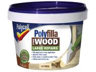 Polycell PLC2PWFN500 - Polyfilla 2 Part Wood Filler Natural 500g