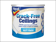 Polycell PLCCFCSM25L - Crack-Free Ceilings Smooth Matt 2.5 Litre