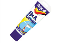 Polycell PLCFNG330GS - Fix & Grout Tube 330g