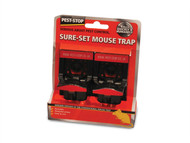 Pest-Stop Systems PRCPSSPT - Sure-Set Mouse Trap Pack of 2
