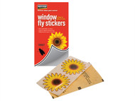 Pest-Stop Systems PRCPSWFS - Window Fly Stickers (Pack of 4)