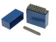 Priory PRIL18 - 181- 3.0mm Set of Letter Punches 1/8in