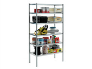 Raaco RAA135573 - S450-31 Galvanised Shelving With 6 Shelves