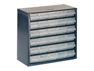 Raaco RAA137546 - 624-01 Metal Cabinet 24 Drawer