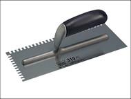 Ragni RAG319 - R319 Mastic Trowel U 4mm Notches Edge Plastic Handle 11in x 4.3/4in