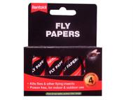 Rentokil RKLFF40 - Flypapers (Pack of 4)