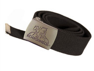 Roughneck Clothing RNKBELT - Black Heavy-Duty Woven Belt
