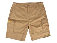 Roughneck Clothing RNKSHORT40K - Khaki Work Shorts Waist 40in