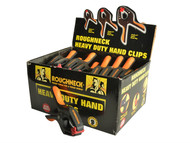 Roughneck ROU38332DISP - Heavy-Duty Plastic Hand Clip 50mm (2in) Display 18pc