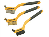 Roughneck ROU52005 - Mini Wire Brush Set of 3
