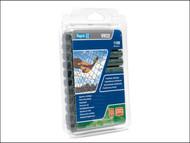 Rapid RPDVR22GR110 - VR22 Fence Hog Rings Pack 1100 Green