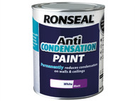 Ronseal RSLACPWM750 - Anti Condensation Paint White Matt 750ml