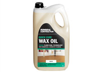 Ronseal RSLCQCWOS5L - Contractor Quick Cure Wax Oil Satin 5 Litre