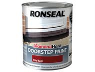 Ronseal RSLDHDSPR750 - Diamond Hard Doorstep Paint Tile Red 750ml