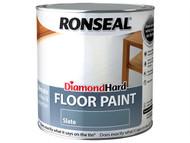 Ronseal RSLDHFPSL25L - Diamond Hard Floor Paint Slate 2.5 Litre