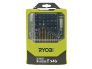 Ryobi RYBRAK46MIX - RAK 46MIX Mixed Screwdriver Set of 46
