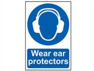 Scan SCA0005 - Wear Ear Protectors - PVC 200 x 300mm