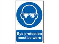 Scan SCA0007 - Eye Protection Must Be Worn - PVC 200 x 300mm