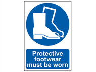 Scan SCA0016 - Protective Footwear Must Be Worn - PVC 200 x 300mm