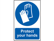 Scan SCA0023 - Protect Your Hands - PVC 200 x 300mm