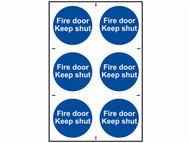 Scan SCA0151 - Fire Door Keep Shut - PVC 200 x 300mm