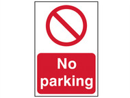 Scan SCA0605 - No Parking - PVC 200 x 300mm
