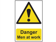 Scan SCA1200 - Danger Men At Work - PVC 200 x 300mm