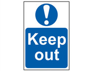 Scan SCA4003 - Keep Out - PVC 400 x 600mm