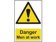 Scan SCA4104 - Danger Men At Work - PVC 400 x 600mm