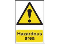 Scan SCA4107 - Hazardous Area - PVC 400 x 600mm