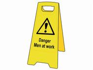 Scan SCA4710 - Danger Men At Work Heavy-Duty A Board