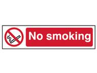 Scan SCA5050 - No Smoking - PVC 200 x 50mm
