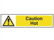 Scan SCA5115 - Caution Hot - PVC 200 x 50mm