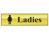 Scan SCA6002 - Ladies - Polished Brass Effect 200 x 50mm