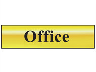 Scan SCA6010 - Office - Polished Brass Effect 200 x 50mm