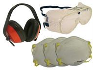 Scan SCAPPEKITN - Safety Kit - Goggles, Earmuff & Masks