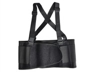 Scan SCAWWBACSUPM - Back Support Belt with Braces 80-97cm (32-38in) Medium