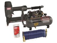 Senco SENPC0972UK - SLS18 Stapler & PC1010 Compressor 1Hp 230 Volt