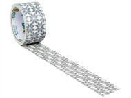 Shurtape SHU104372 - Duck Tape 48mm x 9.1m Frosty The Snowflake