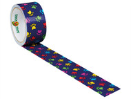 Shurtape SHU104376 - Duck Tape 48mm x 9.1m Paint Paws
