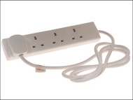 SMJ SMJB4W2MP - Extension Lead 240 Volt 4 Way 13A 2 Metre