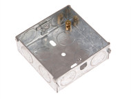 SMJ SMJMBS16C - Metal Back Box Single 16mm Depth - Carded