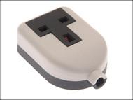 SMJ SMJRTS1GW - White Extension Socket 13A 1 Gang