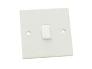 SMJ SMJTW11LS - Light Switch 1 Gang 1 Way Trade Pack