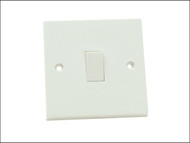 SMJ SMJW11LSC - Light Switch 1 Gang 1 Way Clam Pack