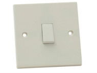 SMJ SMJW12LSC - Light Switch 1 Gang 2 Way