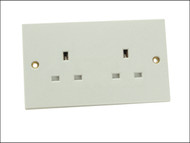 SMJ SMJW2GUSC - Unswitched Socket 2 Gang 13A